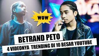 WOW 4 VIDEO BETRAND PETO TRENDING DI TOP 10 YOUTUBE