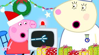 Peppa Pig Official Channel 🌈 Christmas at the Hospital with Peppa Pig