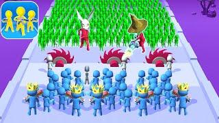 Gun Clash 3D Christmas 2020 Gameplay (iOS, Android) Walkthrough Part 81 | Level 861-870