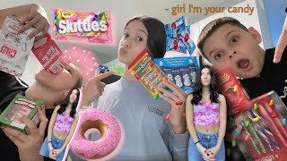 Trying weird Christmas candy !! {The most funny video} •vlogmas Day #4 2020•