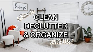 CLEAN DECLUTTER AND ORGANIZE WITH ME 2020 | CHRISTMAS CLEANING MOTIVATION | CLEAN WITH ME