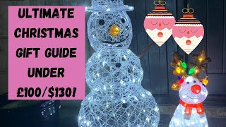 CHRISTMAS GIFT GUIDE FOR HER UNDER £100!!