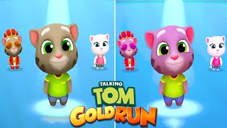 Talking Tom Gold Run Christmas 2020 | Talking Tom 2x Color Reaction | Gameplay iOS,Android