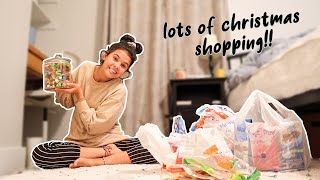 CRAZIEST Christmas Shopping Adventure! *may have blown all my money...