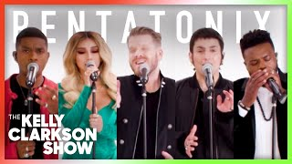 Pentatonix Performs 'Amazing Grace' From 'We Need A Little Christmas' Album