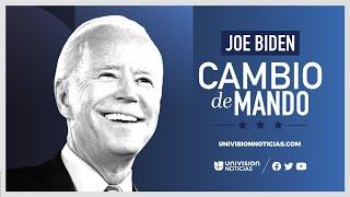 En vivo y en español: Toma de posesión de Joe Biden