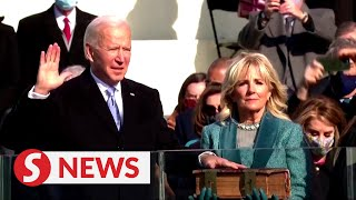 Biden, Harris take office in historic inauguration