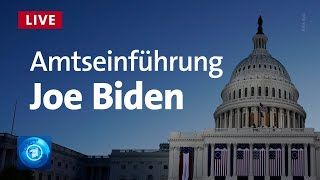 USA: Biden wird als 46. US-Präsident vereidigt | LIVE
