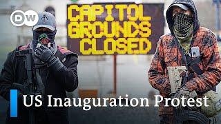 US: Tense calm ahead of Joe Biden's presidential inauguration | DW News