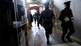 Joe Biden's inauguration rehearsal forced to evacuate amid security concern