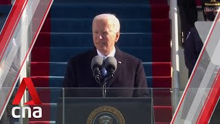 """""""Without unity, there is no peace"""": US President Joe Biden's inauguration speech"""