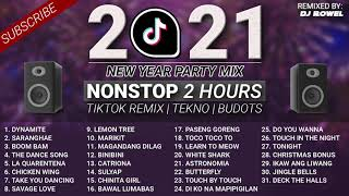 [NEW] TikTok Remix Viral 2021 | NEW YEAR 2021 Nonstop Party Mix | DJ ROWEL | 2 Hours