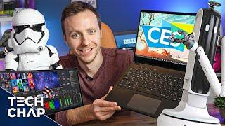 The BEST Tech from CES 2021! (ft. Creepy Robots & Next Gen TVs) | The Tech Chap