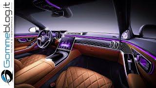 2021 Mercedes S-Class  - TECH FEATURES | Car Factory PRODUCTION