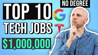 10 Highest Paying Jobs in Tech With NO Degree 2021 (a tech executive's guide)