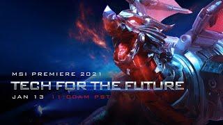 MSI Premiere 2021 - Tech For The Future | MSI