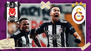Besiktas vs Galatasaray | SUPER LIG HIGHLIGHTS | 1/17/2021| beIN SPORTS USA