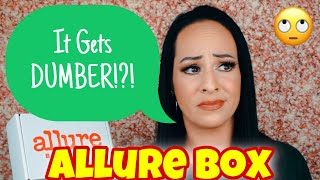 It just keeps getting dumber!?! Allure beauty box ~Unboxing ~ January 2021