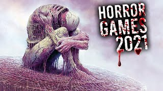 Top 10 NEW Horror Games of 2021