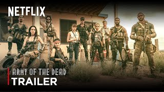 Army Of The Dead (2021) Zack Snyder Movie TEASER TRAILER | Netflix