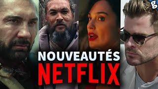 NETFLIX dévoile ses GROS FILMS de 2021 !