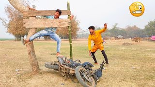 Non-stop Video Must Watch Funny Comedy Video 2021 TRY TO NOT LAUGH    By Bindas Fun Masti