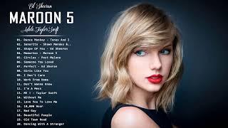 Pop Music 2021 | Rihanna, Maroon 5, Ed Sheeran, Adele, Taylor Swift, Ariana Grande, Sam Smith