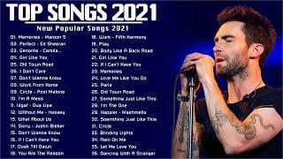 Pop Music 2021 (Best Pop Playlist 2021) ❄️ Top 50 Popular Popular Songs 2021