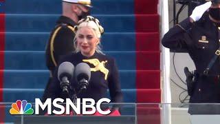 Lady Gaga Performs The National Anthem At Joe Biden's Inauguration | MSNBC