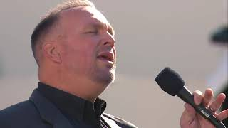 Garth Brooks performs 'Amazing Grace' at the inauguration of Joe Biden as Presdient