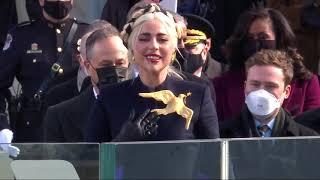 Lady Gaga sings national anthem on Inauguration Day | FOX6 News Milwaukee