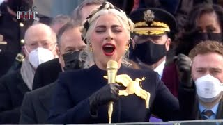 FULL VIDEO: Lady Gaga performs National Anthem at inauguration | FOX 5 DC