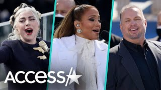 Lady Gaga, JLo & Garth Brooks' Inauguration Performances