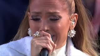 JLo canta en ceremonia de Joe Biden y Kamala Harris