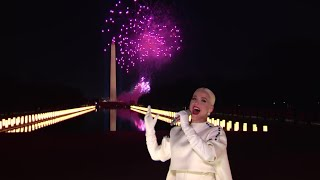"""Katy Perry Performs """"Firework"""" As Inauguration Day Comes to an End 