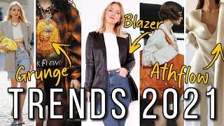 DAS sind die FASHION TRENDS 2021, die ich sogar tragen würde... Trend Voraussage 2021!