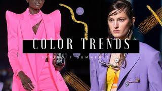 Color Trends - Spring/Summer 2021