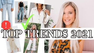 TOP Fashion Trends 2021 | HOW TO WEAR THEM!