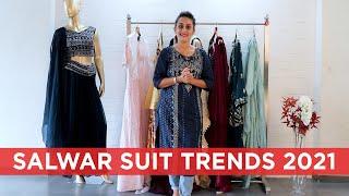 Wedding wear salwar suit designs 2021