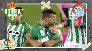 Betis vs Celta | LALIGA HIGHLIGHTS | 1/20/2021 | beIN SPORTS USA