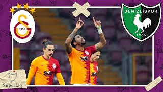 Galatasaray vs Denizlispor | SÜPERLIG HIGHLIGHTS | 1/20/2021 | beIN SPORTS USA