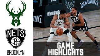 Bucks vs Nets HIGHLIGHTS Full Game | NBA January 18 2021