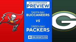 Buccaneers vs Packers: 2021 NFC Championship Preview | NFL | CBS Sports HQ