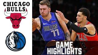 Bulls vs Mavericks HIGHLIGHTS Full Game 1080p 60fps | NBA January 17 2021