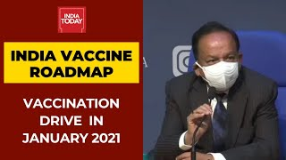 India's COVID-19 Vaccination Drive Likely In January 2021: Health Minister Harsh Vardhan