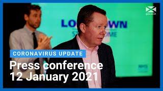 Coronavirus update from the First Minister: 12 January 2021