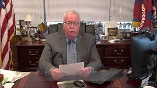 Mayor McCormac Addresses Residents on Coronavirus, January 25, 2021