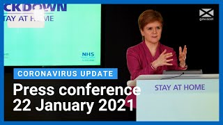 Coronavirus update from the First Minister: 22 January 2021