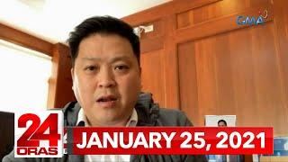24 Oras Express: January 25, 2021 [HD]