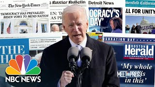 Biden's Two challenges: Covid and Congress | Meet The Press | NBC News